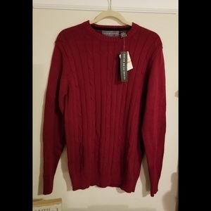 Mens size small red sweater.